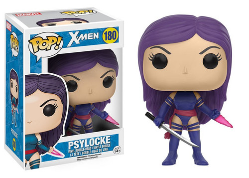 Funko X-Men POP! Marvel Psylocke Vinyl Bobble Head #180 [Damaged Package]