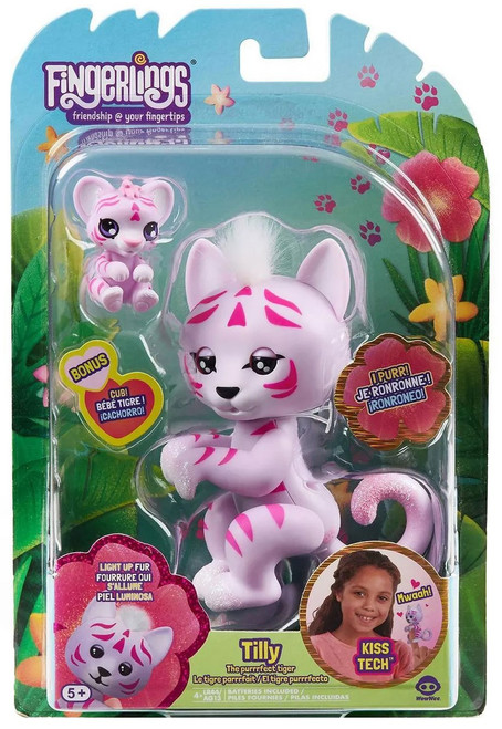 Fingerlings Purrfect Cats Tilly Interactive Toy [Lights Up!]