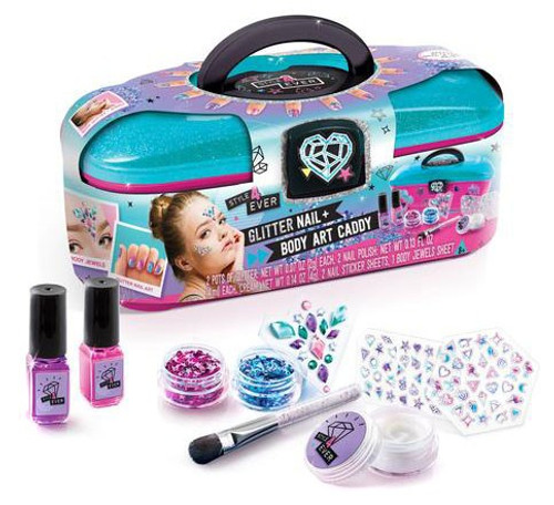 Style 4 Ever Glitter Nail & Body Art Caddy