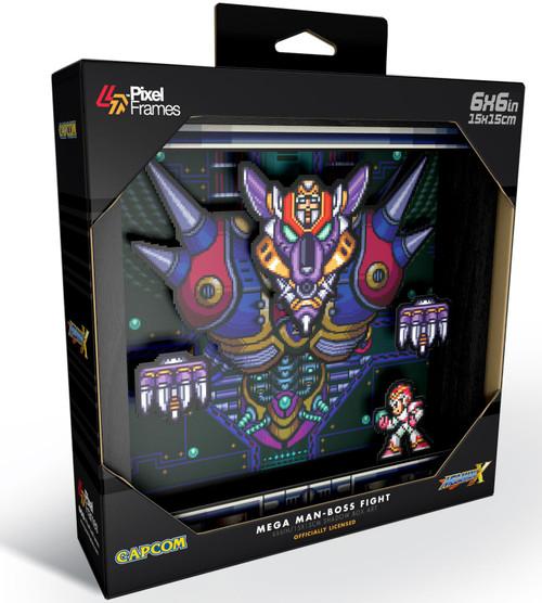 Capcom Mega Man Boss Fight Pixel Frames [6x6]