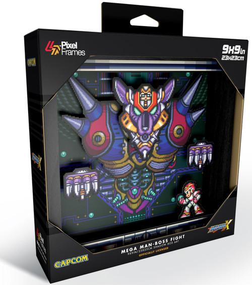 Capcom Mega Man Boss Fight Pixel Frames [9x9]