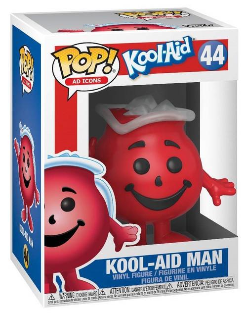 Funko POP! Ad Icons Kool-Aid Man Vinyl Figure #44 [Damaged Package]