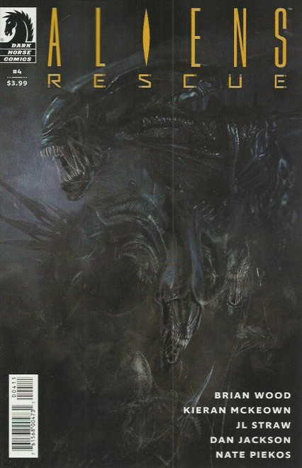 Dark Horse Aliens Rescue #4 of 4 Comic Book