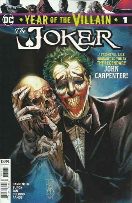 DC Joker Year Of The Villain #1 Comic Book