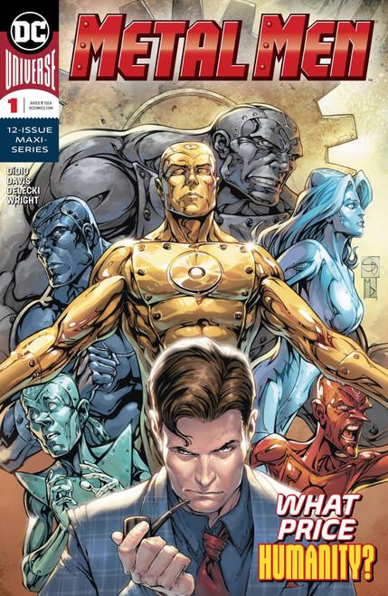 DC Metal Men #1 of 12 Comic Book