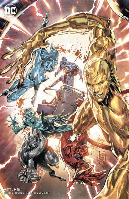 DC Metal Men #1 of 12 Comic Book [Tan & Deering Variant Cover]