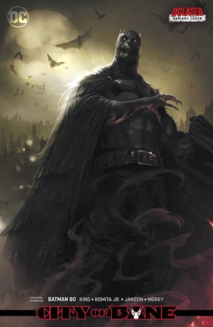 DC Batman #80 Comic Book [Francesco Mattina Variant Cover]