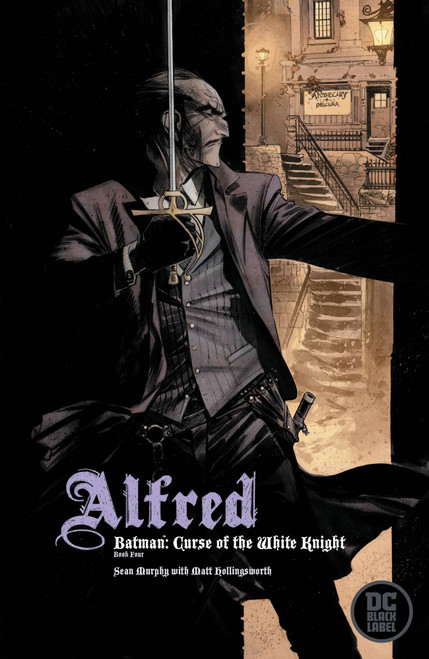 DC Black Label Batman Curse Of The White Knight #4 of 8 Comic Book [Sean Murphy Variant Cover]