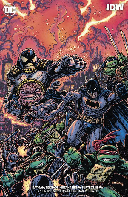 DC Batman / Teenage Mutant Ninja Turtles III #6 of 6 Comic Book [Kevin Eastman Variant Cover]