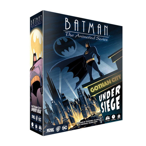 DC Batman: The Animated Series Gotham City Under Siege Game