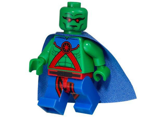 LEGO DC Universe Super Heroes Justice League Martian Manhunter Minifigure [Loose]