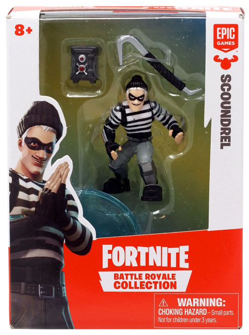 Fortnite Epic Games Battle Royale Collection Scoundrel 2-Inch Mini Figure