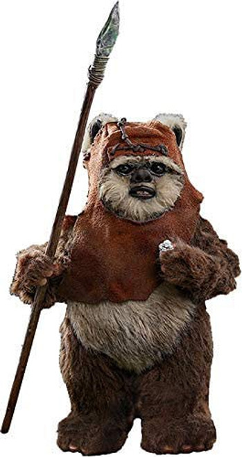 Star Wars Return of the Jedi Movie Masterpiece Wicket Collectible Figure MMS550