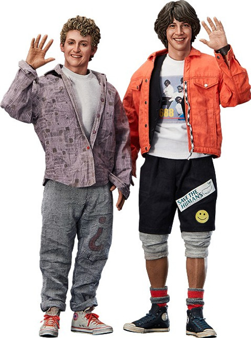 Bill & Ted's Excellent Adventure Bill & Ted Deluxe Collectible Figure Set (Pre-Order ships November)