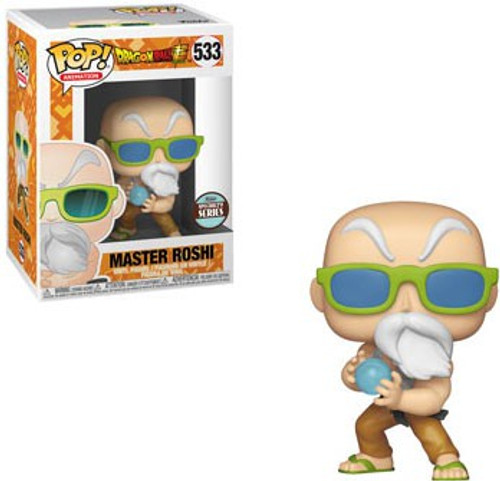 Funko Dragon Ball Z POP! Animation Master Roshi Exclusive Vinyl Figure #533 [Max Power, Specialty Series, Damaged Package]