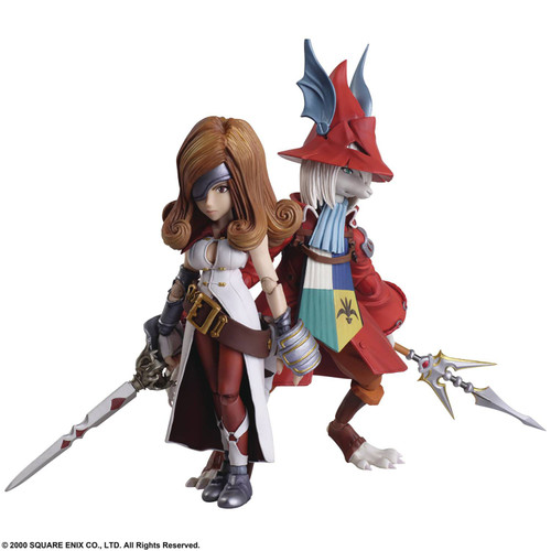 Final Fantasy IX Bring Arts Freya & Beatrix Action Figure 2-Pack