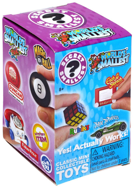 World's Smallest Classic Mini Toys Series 1 Mystery Pack