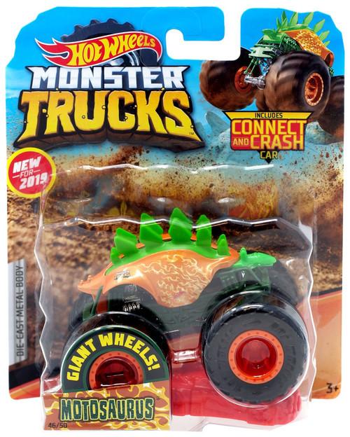 Hot Wheels Monster Trucks Motosaurus Die-Cast Car [Orange]
