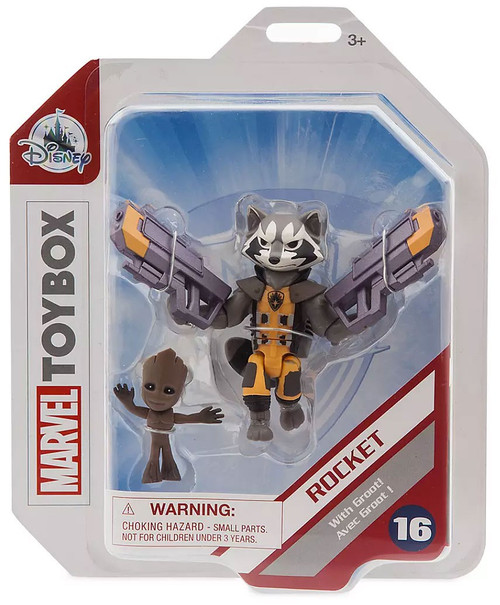 Disney Marvel Toybox Rocket Exclusive Action Figure [with Groot]
