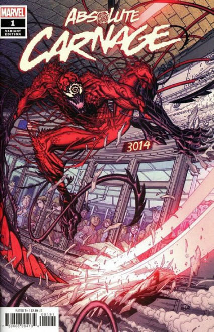 Marvel Comics Absolute Carnage #1 Comic Book [Nick Bradshaw Variant Cover]