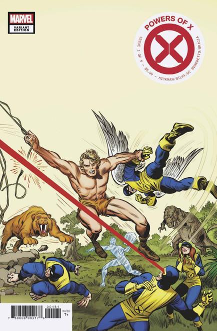 Marvel Comics Powers of X #1 Comic Book [Jack Kirby Hidden Gem Variant Cover]