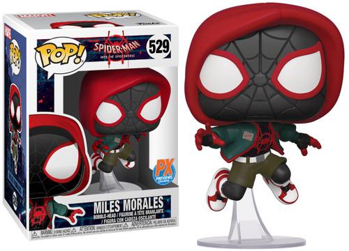 Funko Spider-Man Into the Spider-Verse POP! Marvel Miles Morales Exclusive Vinyl Bobble Head #529 [Casual]