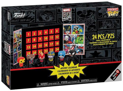 Funko Pocket POP! Marvel Exclusive Advent Calendar [24 Mini Vinyl Figures, Exclusive]