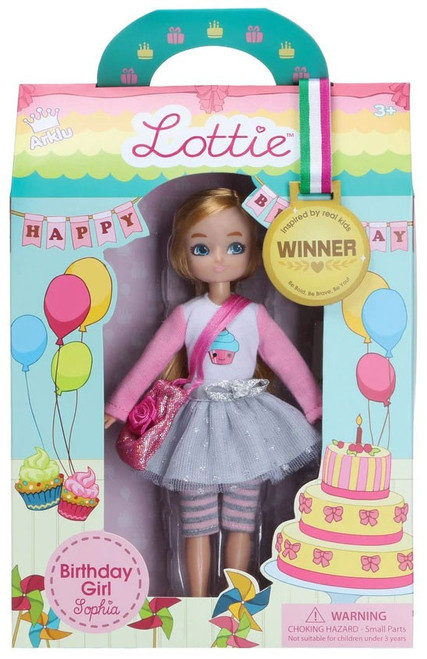 Lottie Birthday Girl Sophia Doll