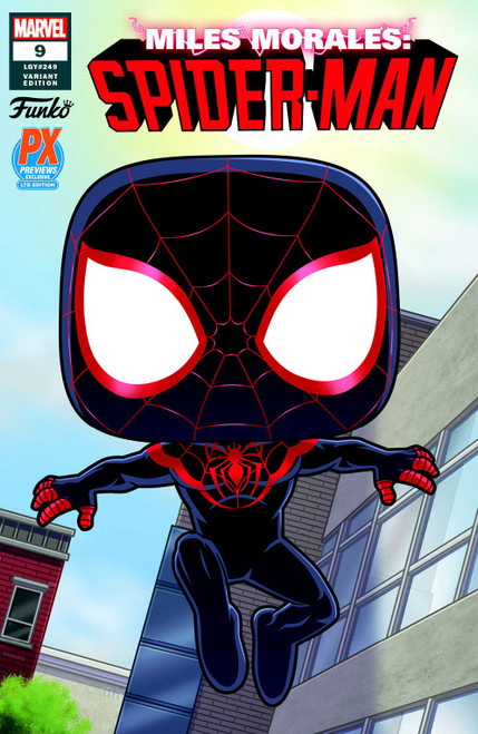 Marvel Comics POP! Marvel #11 Miles Morales Exclusive Comic Book [PX Previews Funko Variant Cover]