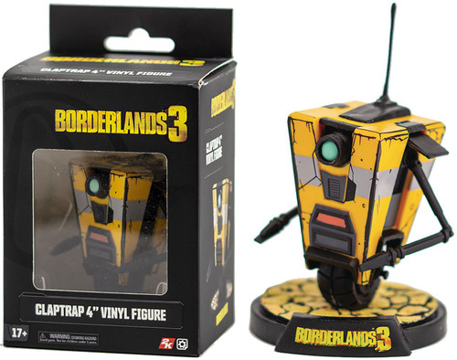 Borderlands 3 Claptrap 4-Inch Collectible Vinyl Figure