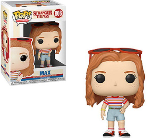 Funko Stranger Things Season 3 POP! TV Max Vinyl Figure #806 [Mall Outfit, Damaged Package]