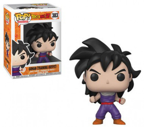Funko Dragon Ball Z POP! Animation Gohan Vinyl Figure #383 [Training Outfit, Damaged Package]