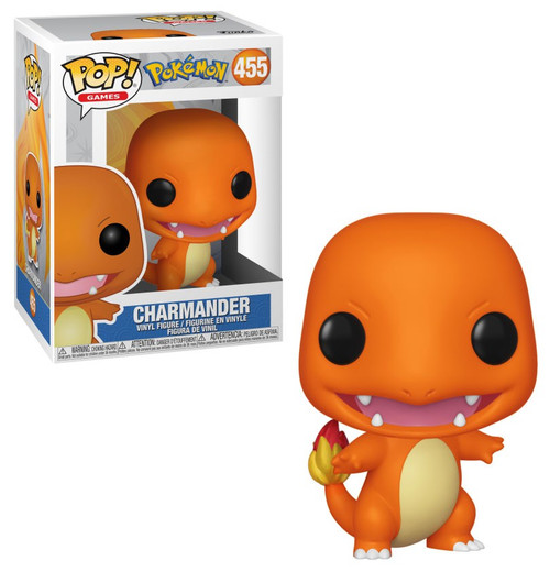 Funko Pokemon POP! Games Charmander Vinyl Figure #455 [Damaged Package]