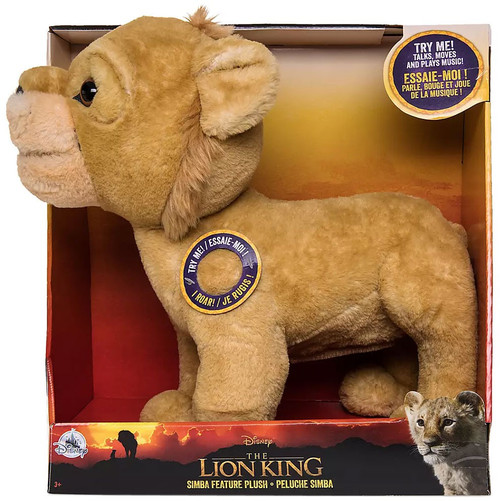 Disney The Lion King 2019 Simba Exclusive 12-Inch Feature Talking Plush