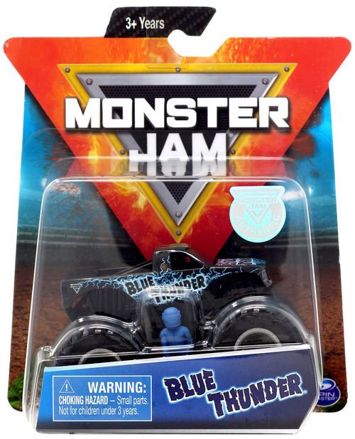 Monster Jam Blue Thunder Diecast Car [1:64]