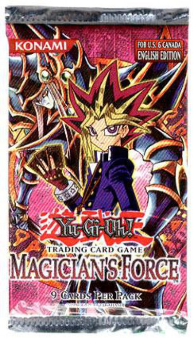 YuGiOh Trading Card Game Magician's Force Booster Pack