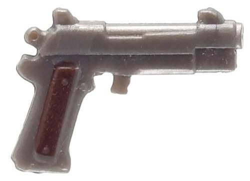 Fortnite Pistol 2-Inch Common Figure Accessory [Silver Loose]