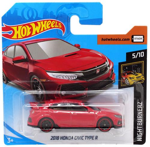 Hot Wheels Nightburnerz 2018 Honda Civic Type R Die-Cast Car FYB72 [5/10]