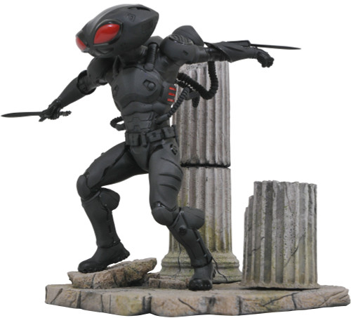 Aquaman Movie DC Gallery Black Manta 9-Inch PVC Statue