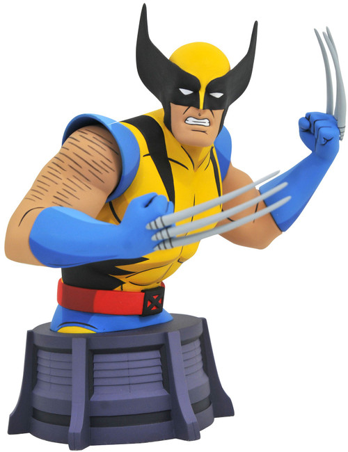 Marvel X-Men The Animated Series Wolverine 6-Inch Bust