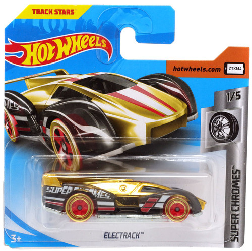 Hot Wheels Super Chromes Electrack Diecast Car FYG81 [1/5]