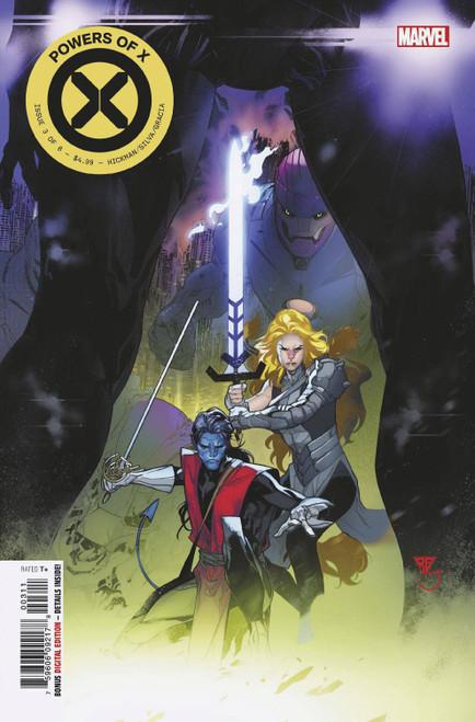 Marvel Comics Powers of X #3 Comic Book [Secret Nightcrawler & Magik Variant Cover]