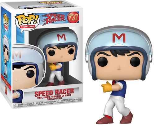 Funko POP! Animation Speed Racer Vinyl Figure #737 [in Helmet, Regular Version]