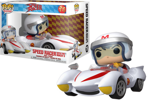 Funko POP! Rides Speed Racer with Mach 5 Vinyl Figure