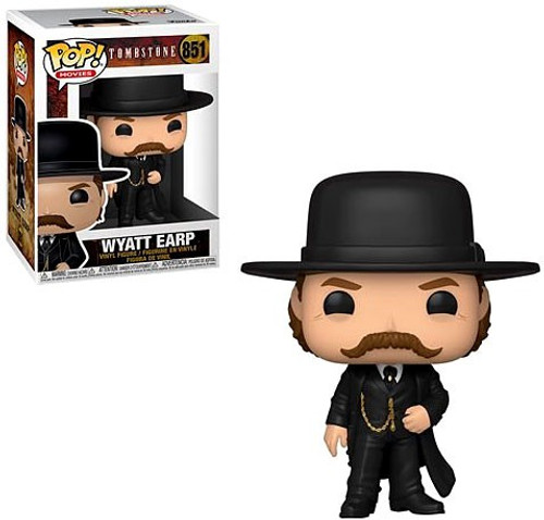Funko Tombstone POP! Movies Wyatt Earp Vinyl Figure #851