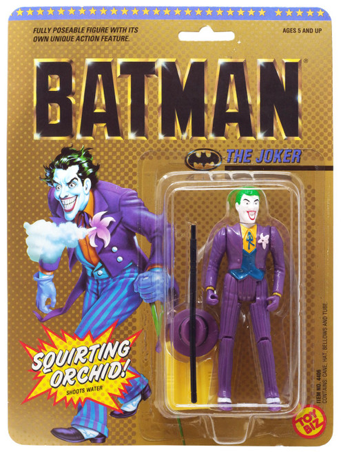 DC Batman The Joker Action Figure [Squirting Orchid]