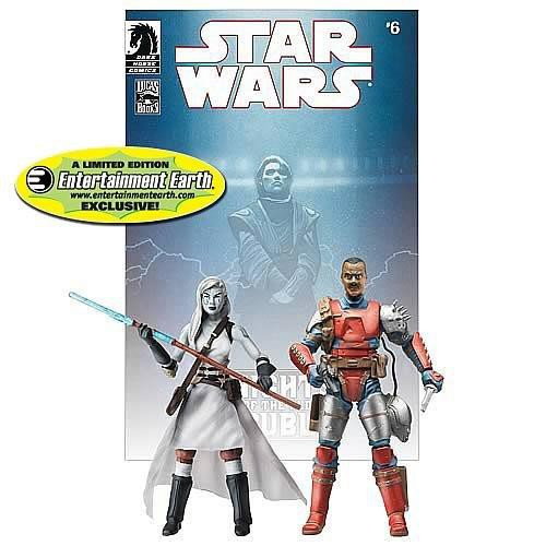 Star Wars Comic Packs 2010 Jarael & Rohlan Dyre Exclusive Action Figure 2-Pack