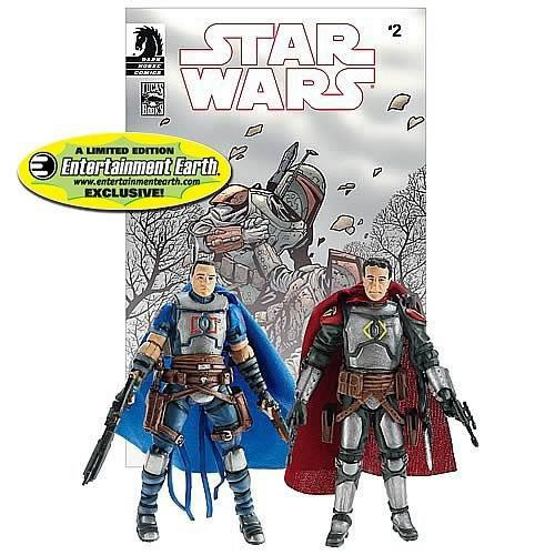 Star Wars Comic Packs 2010 Montross & Jaster Mereel Exclusive Action Figure 2-Pack