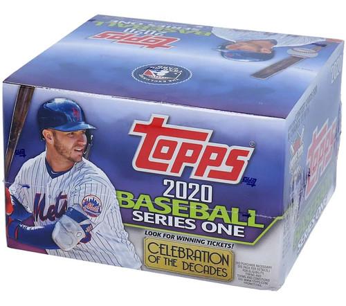 MLB Topps 2020 Series 1 Baseball Trading Card RETAIL Box [24 Packs]