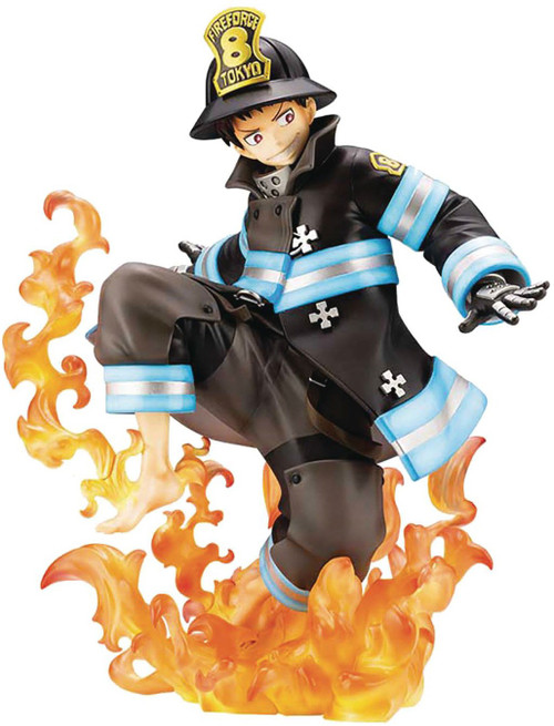 Fire Force Shinra Kusakabe 9-Inch Collectible PVC Figure